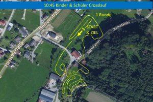 Strecke Kindercrosslauf